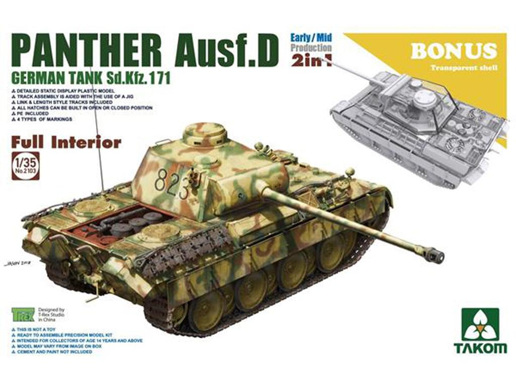 Sd.Kfz.171 Panther Ausf.D Early/Mid prod