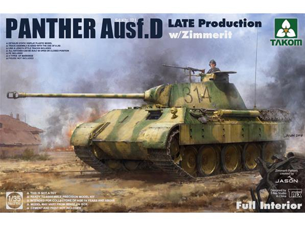 Sd.Kfz.171 Panther Ausf.D Late productio