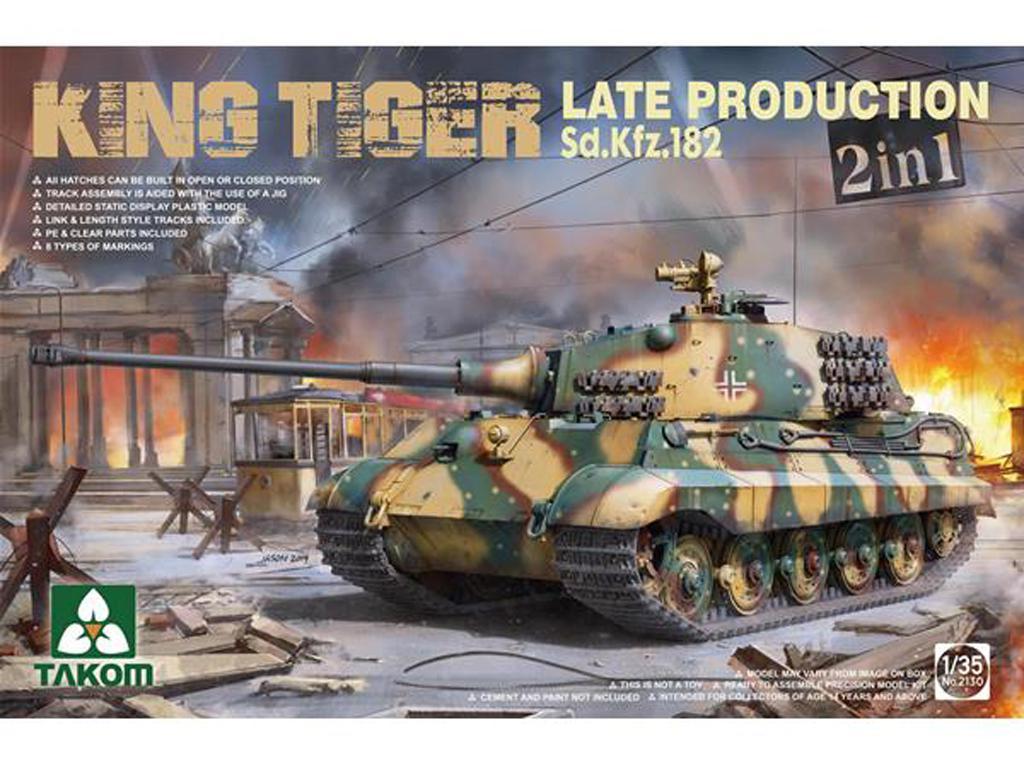 Sd.Kfz.182 King Tiger Late Production (Vista 1)