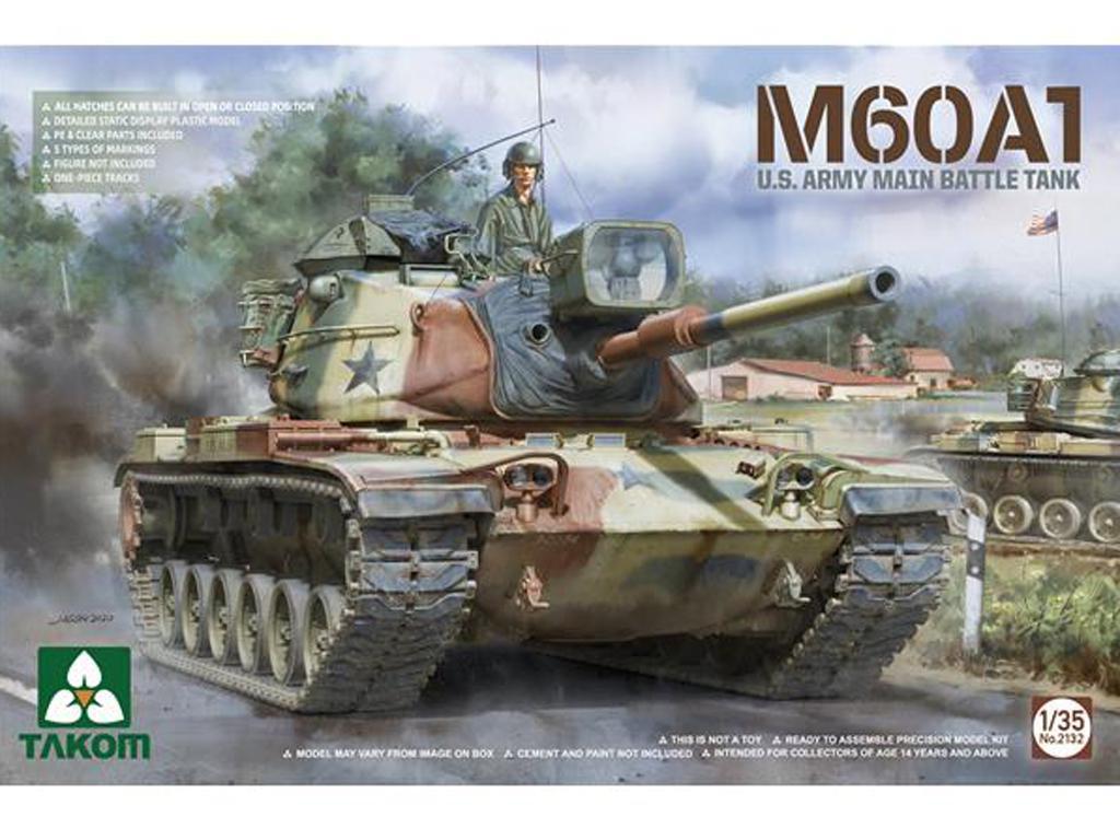 M60A1 U.S .ARMY MainBattle Tank (Vista 1)
