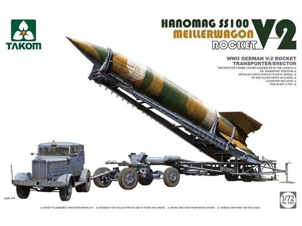 V-2 Rocket Transporter/Erector Meillerwa (Vista 1)