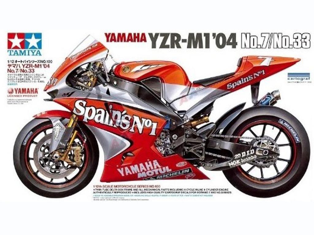 Yamaha YZR-M1 2004 No.7/33 - Ref.: TAMI-14100