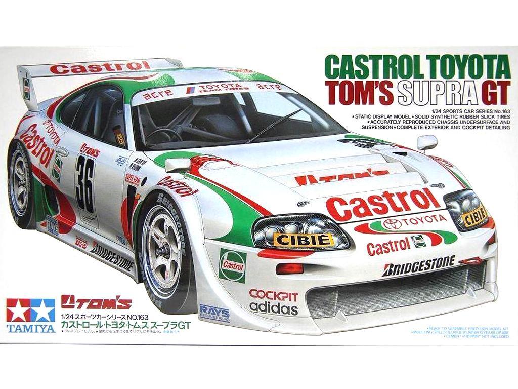 Castrol Toyota Tom's Supra GT - Ref.: TAMI-24163