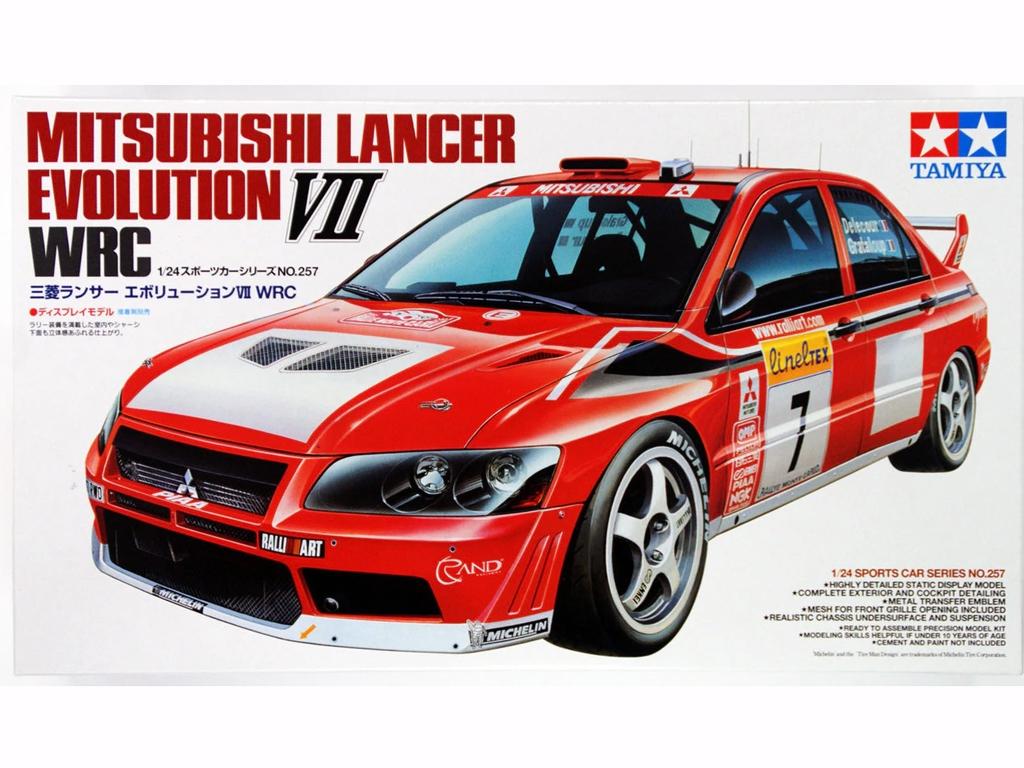 Mitsubishi Lancer EVO VII WRC - Ref.: TAMI-24257