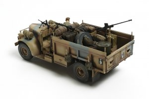 British LRDG Command Car - North Africa