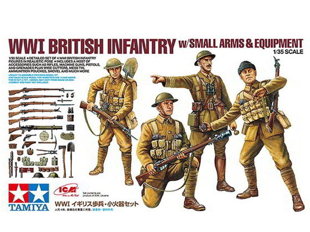 Infanteria Britanica + equipamiento - Ref.: TAMI-32409