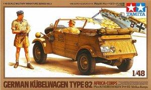 Kubelwagen Type 82 Africa-Corps - Ref.: TAMI-32503