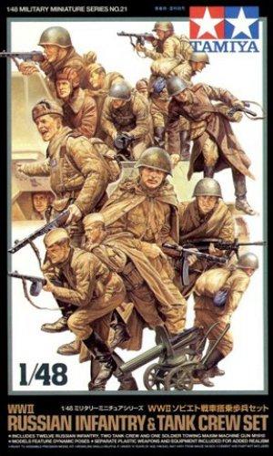 Infanteria Rusa y Tanquistas  (Vista 1)