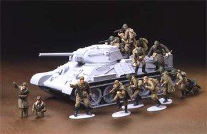 Infanteria Rusa y Tanquistas  (Vista 4)