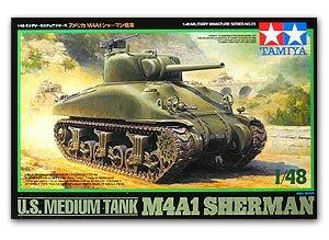 U.S. M4 A1 Sherman Tank  (Vista 1)