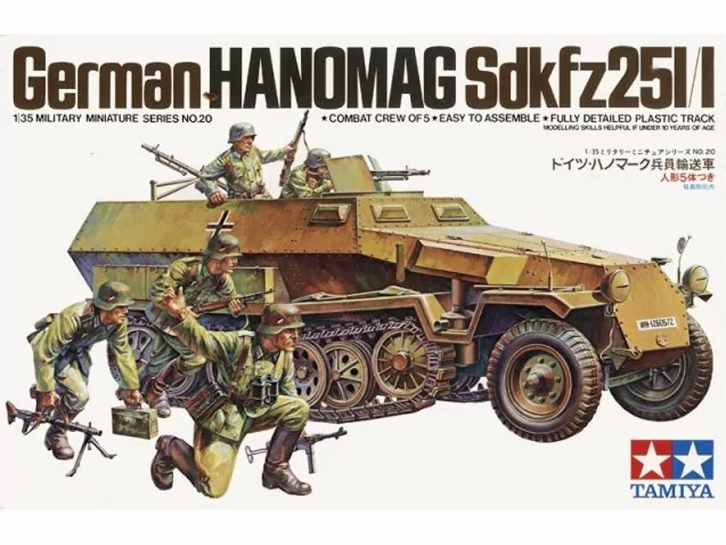 German Hanomag Sd.Kfz. 251/1