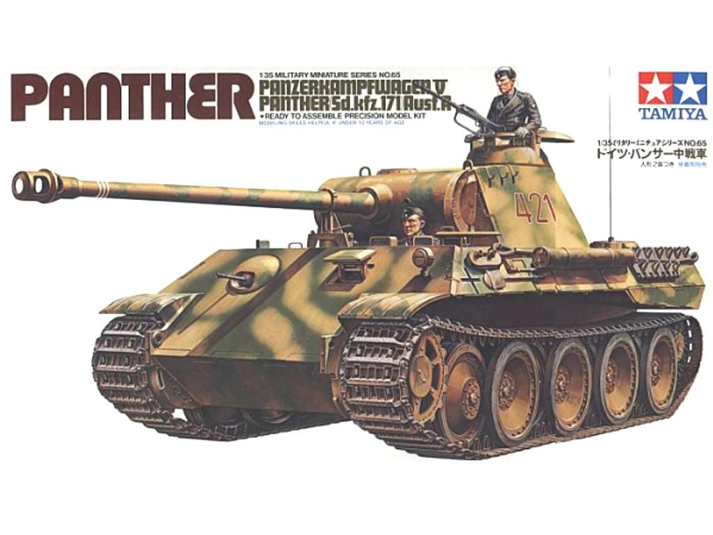 German Panther Ausf. A - Ref.: TAMI-35065