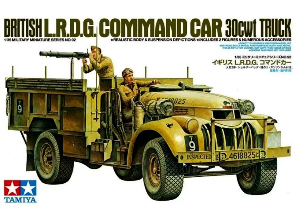 British LRDG Chevrolet - Ref.: TAMI-35092