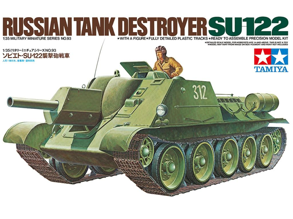 Tanque Ruso SU-122 - Ref.: TAMI-35093