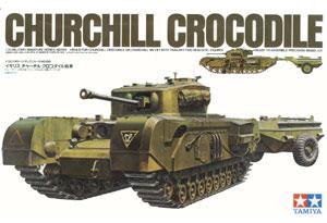 Tanque Britanico Churchill Crocodrile - Ref.: TAMI-35100