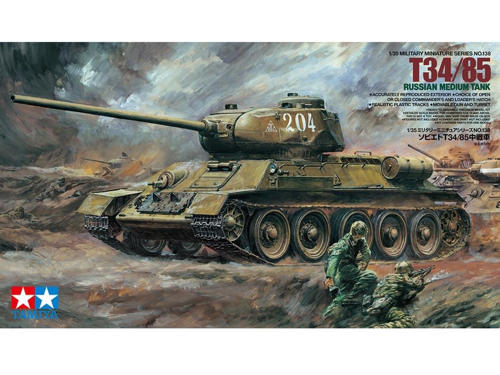 Russian Tank T34/85 - Ref.: TAMI-35138