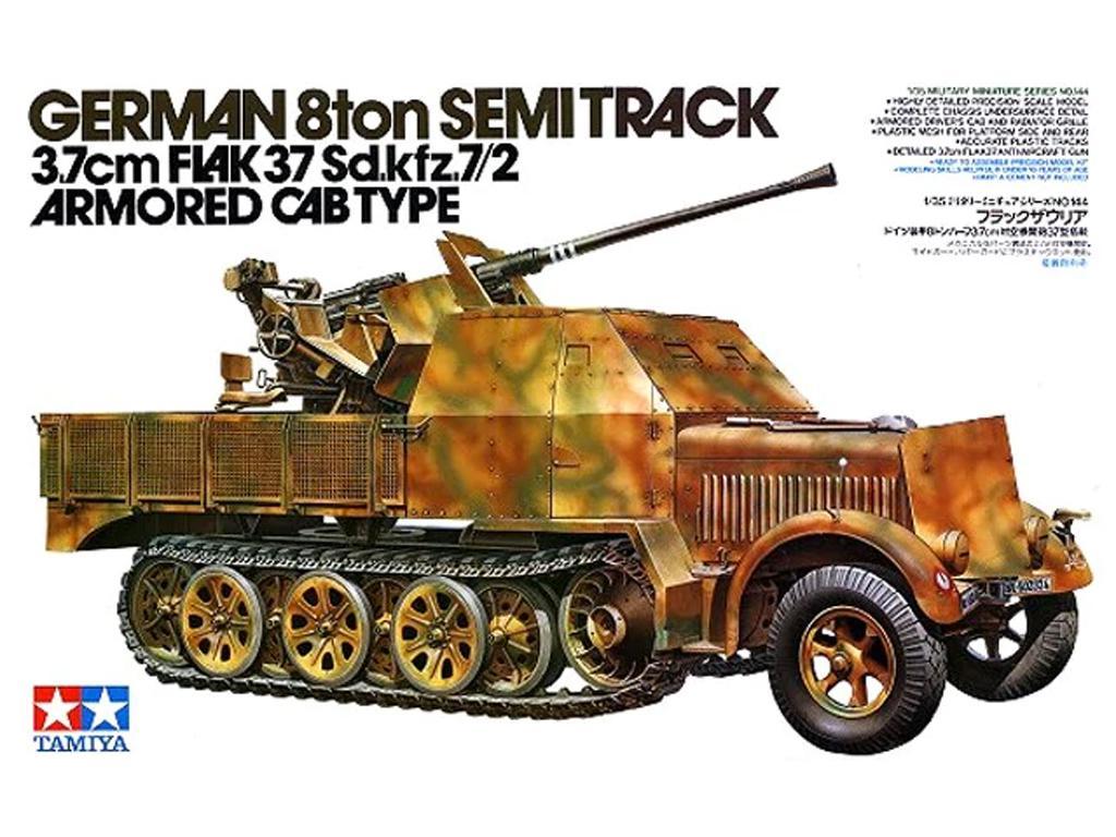 German 8 Ton Semi Track Sd.Kfz. 7/2 - Ref.: TAMI-35144