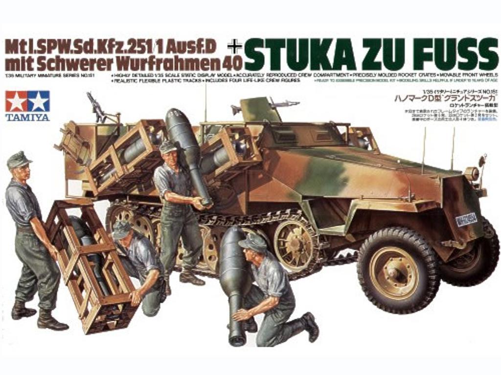 Stuka Zu Fuss MTL.Sd.Kfz. 251/1 Ausf. D - Ref.: TAMI-35151
