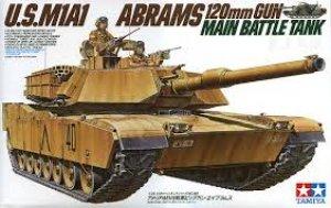 U.S. M1A1 Abrams MBT - Ref.: TAMI-35156