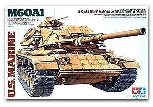 Tanque M60A1 con blindaje reactivo - Ref.: TAMI-35157