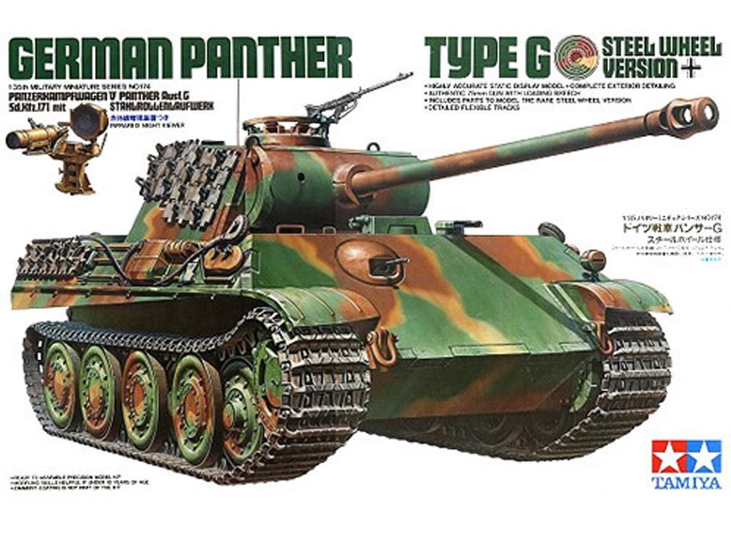 Panther G con ruedas de acero - Ref.: TAMI-35174