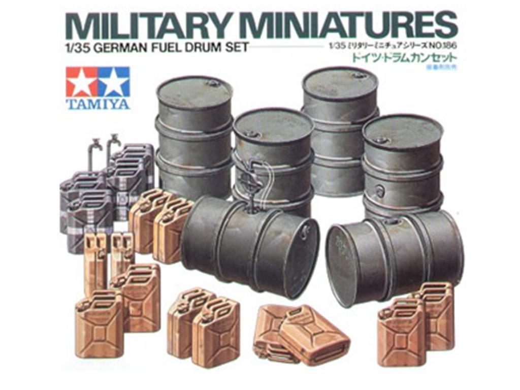 Bidones y latas combustible Aemanas - Ref.: TAMI-35186