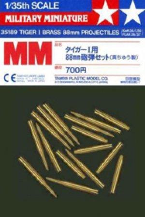 Proyectiles para el Tiger I - Ref.: TAMI-35189