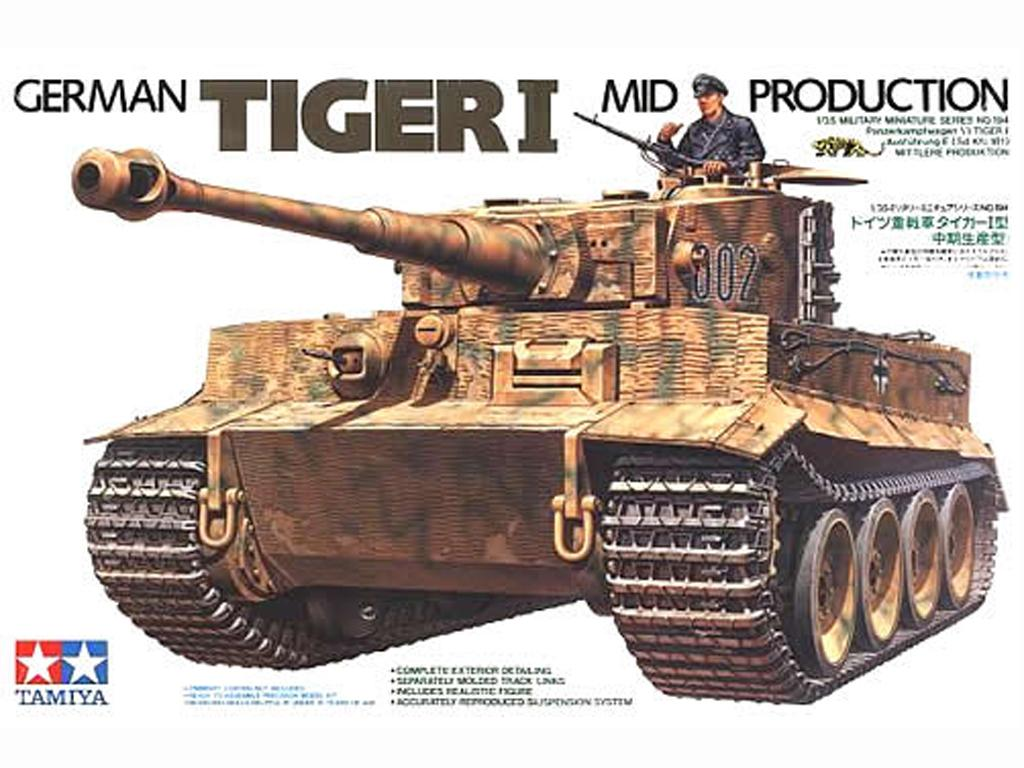 German Tiger I Mid Production - Ref.: TAMI-35194