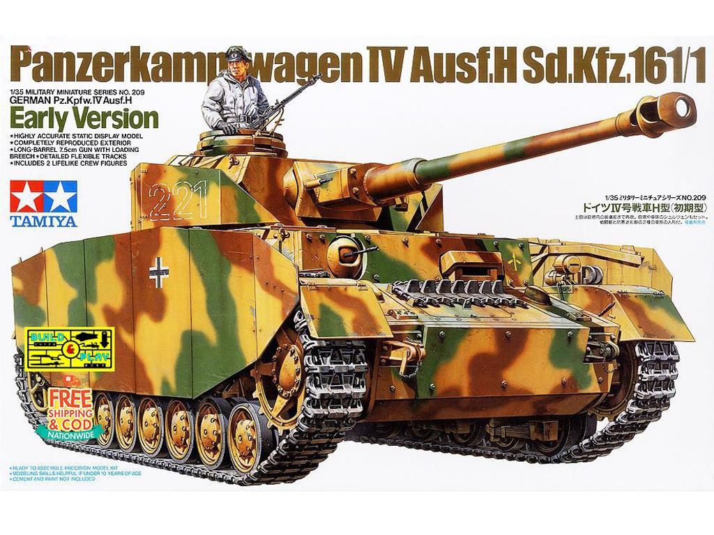 German Pz.Kpfw.IV Ausf.H Early Version - Ref.: TAMI-35209