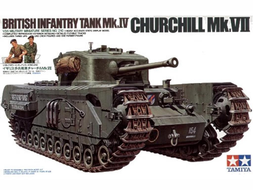 British Infantry Tank MK.IV Churchill MK  (Vista 1)