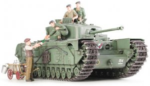 British Infantry Tank MK.IV Churchill MK  (Vista 2)