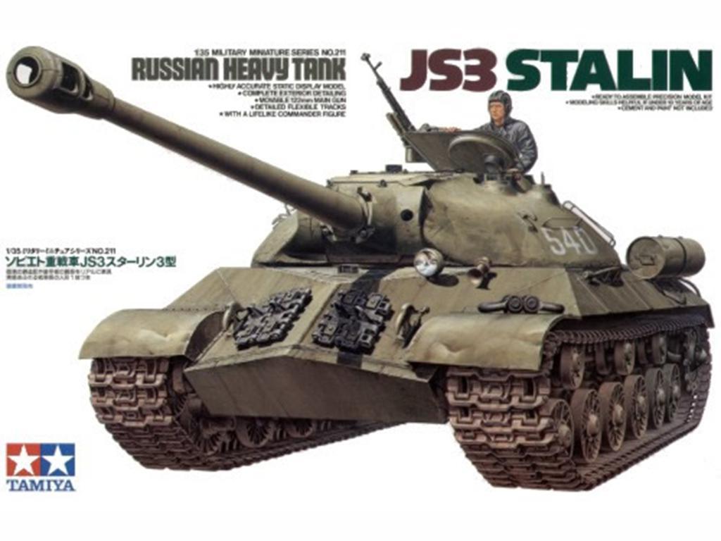 JS3 Stalin Russian Heavy Tank - Ref.: TAMI-35211