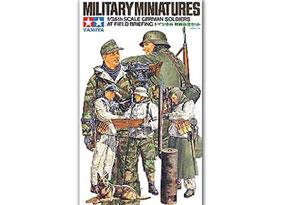 Soldados Alemanes en campaña - Ref.: TAMI-35212