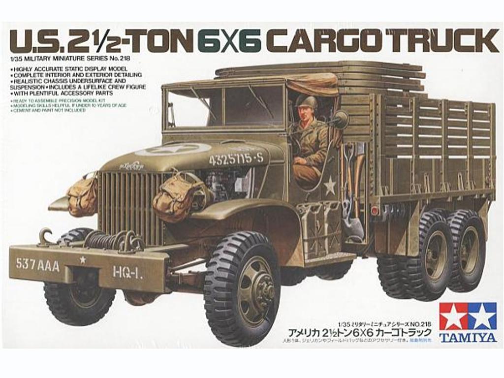 U.S. 2 1/2-Ton 6x6 Cargo Truck - Ref.: TAMI-35218