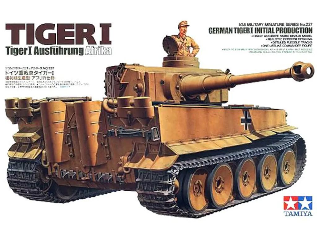 German Tiger I Initial Production - Ref.: TAMI-35227