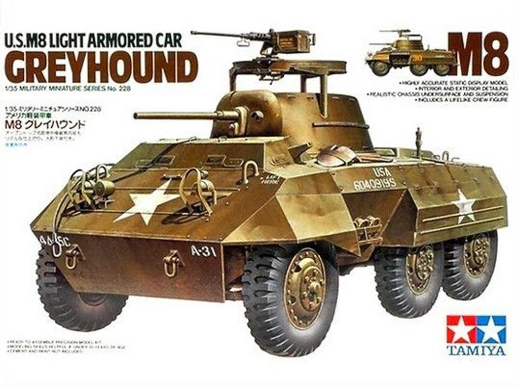 U.S. M8 Light Aarmored Car Greyhound