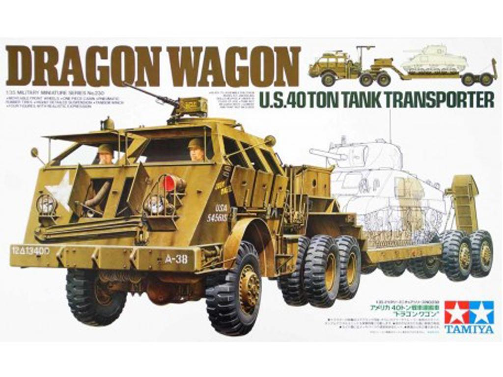 U.S. 40 Ton Tank Transporter - Ref.: TAMI-35230