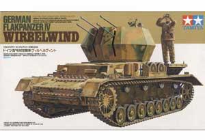 German Flakpanzer IV Wirbelwind - Ref.: TAMI-35233