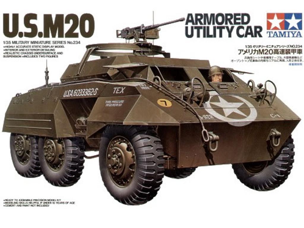M20 Armored Utility Car - Ref.: TAMI-35234