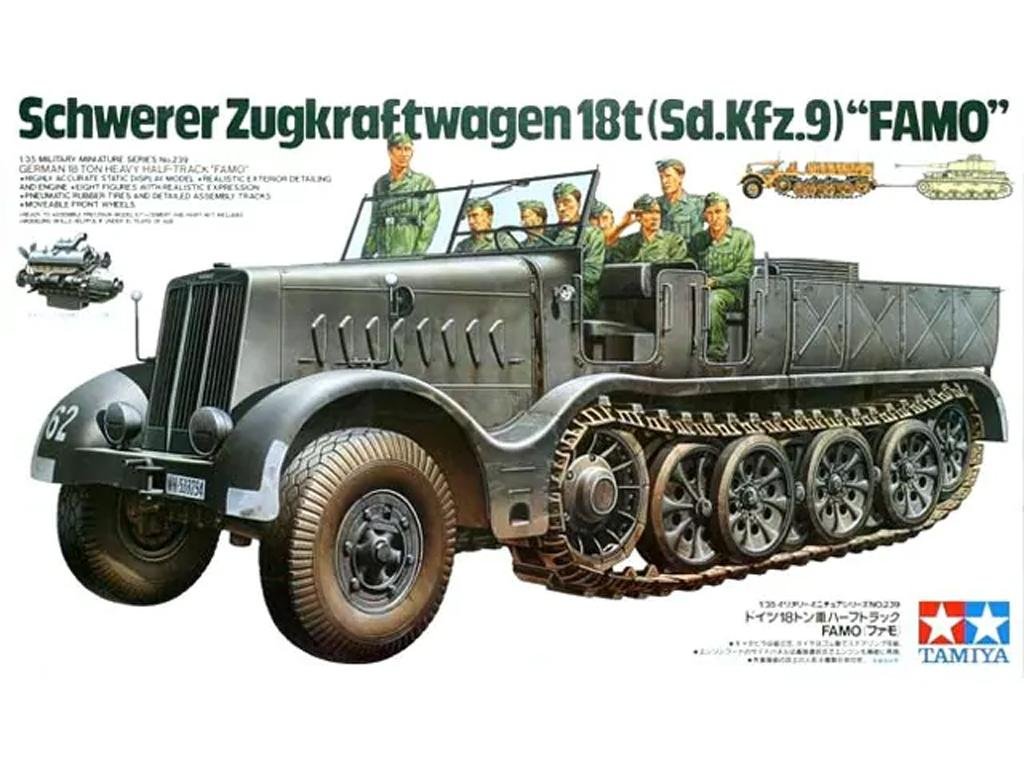 German 18t Half -T rack (Sd.Kfz.9)