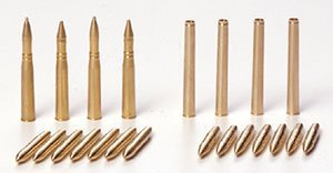 Marder III M Brass 7.5mm Projectiles