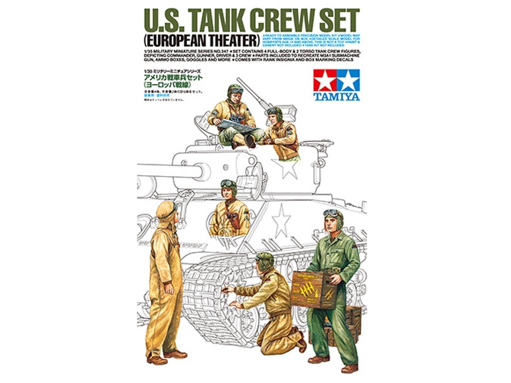 US Tank Crew Set - Teatro Europeo  (Vista 1)
