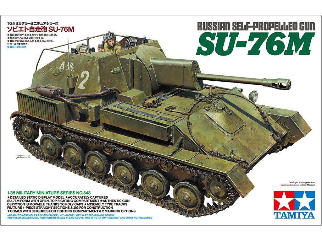 Russian Self-Propelled Gun - SU-76M - Ref.: TAMI-35348