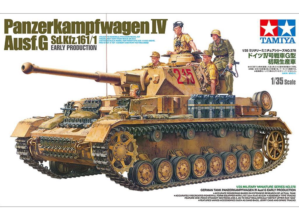 German Pz.Kpfw. IV Ausf.G Early