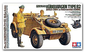 Kubelwagen Type 82 Africa Version - Ref.: TAMI-36202