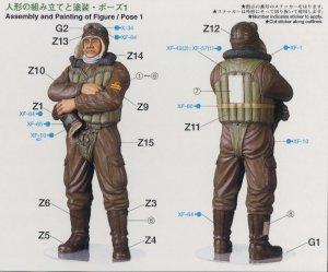 Piloto de caza de la  Armada Imperial Ja  (Vista 2)