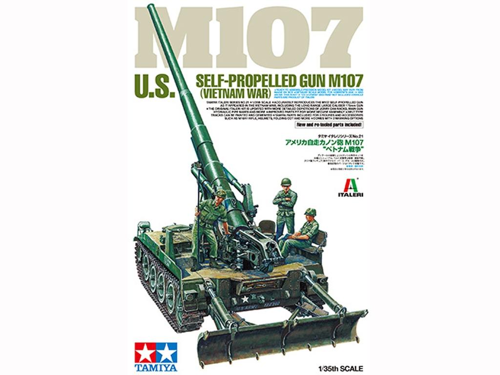 US Self-Propelled Gun M107 - Vietnam War - Ref.: TAMI-37021