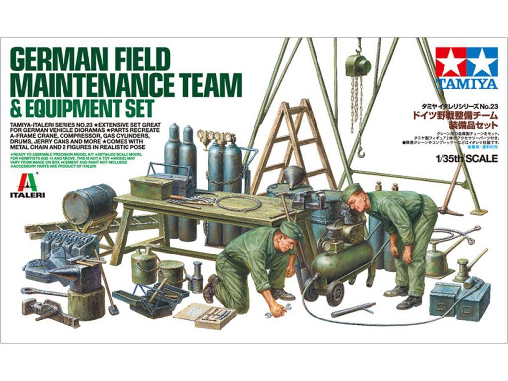 German Field Maintenance Team and Equipm  (Vista 1)