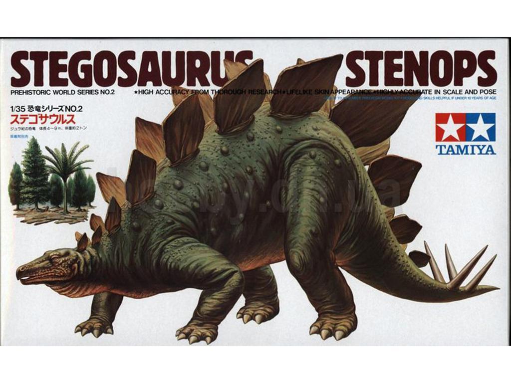 Stegosaurus Stnops  (Vista 1)