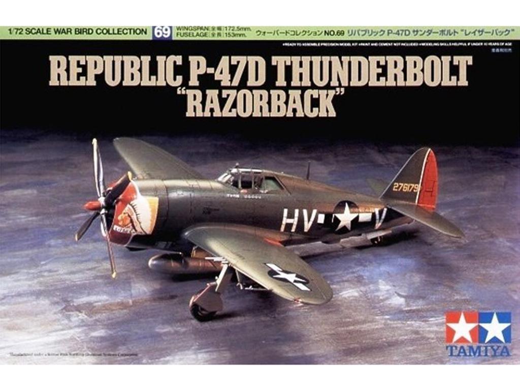 P-47D Thunderbolt Rasorback - Ref.: TAMI-60769